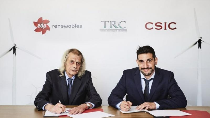 EDPR to recycle its wind turbine blades with TRC